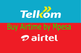 How to buy Airtel and Telkom credit from Mpesa