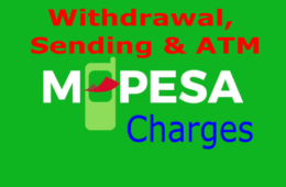 Safaricom Mpesa withdrawal and sending rates