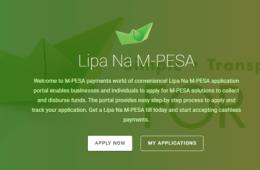Lipa na Mpesa Paybill application process online